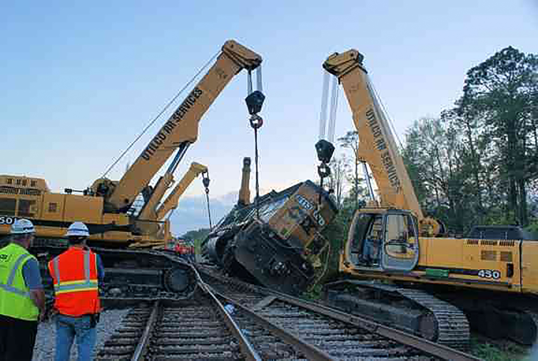 Railroad Equipment Recovery